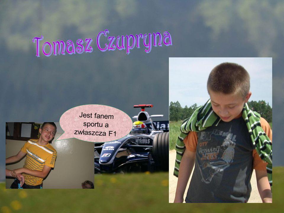 Jest fanem sportu a zwłaszcza F1