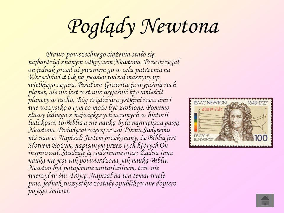 Poglądy Newtona