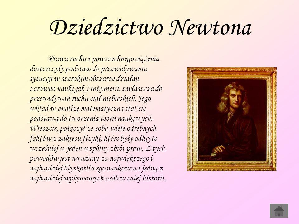 Dziedzictwo Newtona