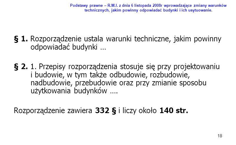 Rozporządzenie zawiera 332 § i liczy około 140 str.