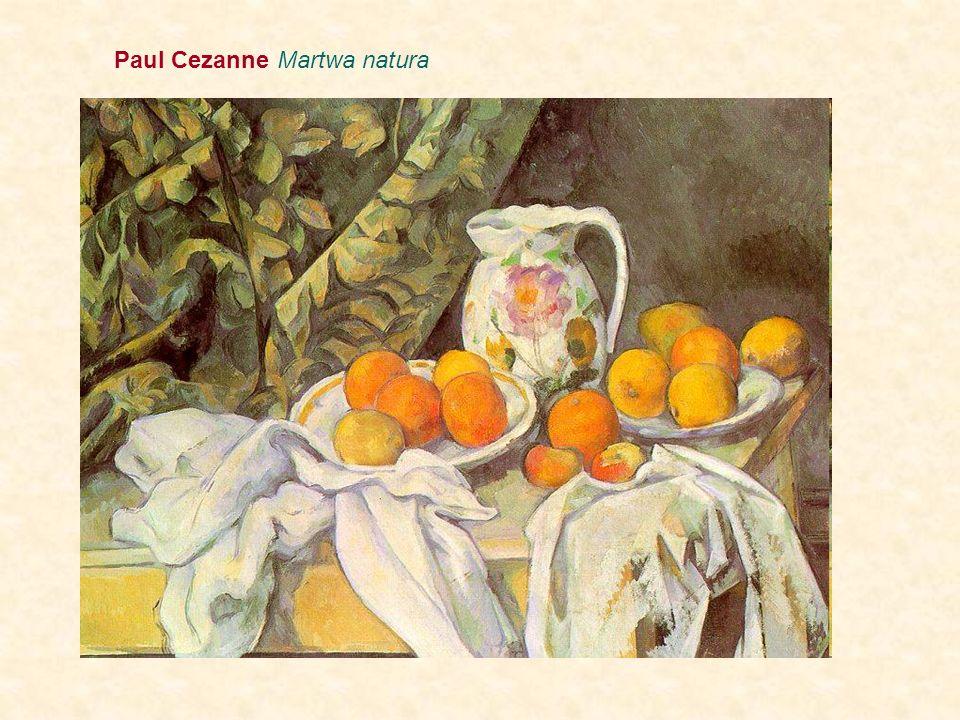 Paul Cezanne Martwa natura