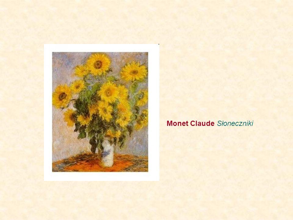 Monet Claude Słoneczniki