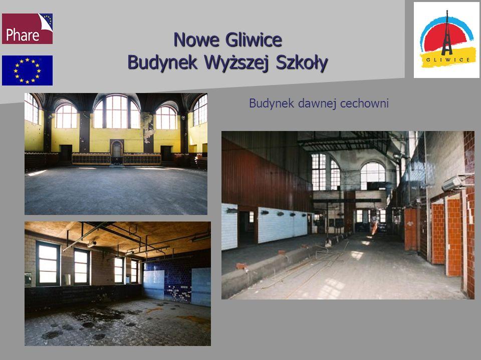 Nowe Gliwice Budynek Wyższej Szkoły