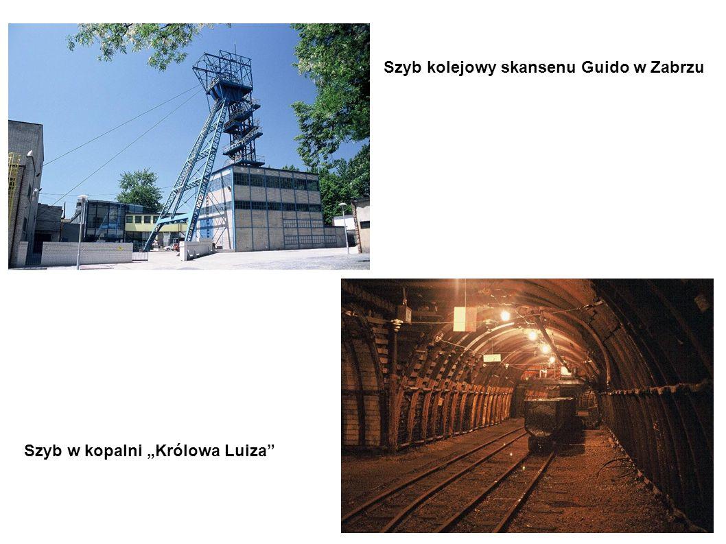 Szyb kolejowy skansenu Guido w Zabrzu