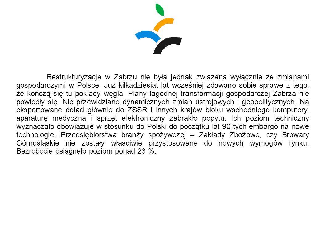Restrukturyzacja w Zabrzu nie była jednak związana wyłącznie ze zmianami gospodarczymi w Polsce.