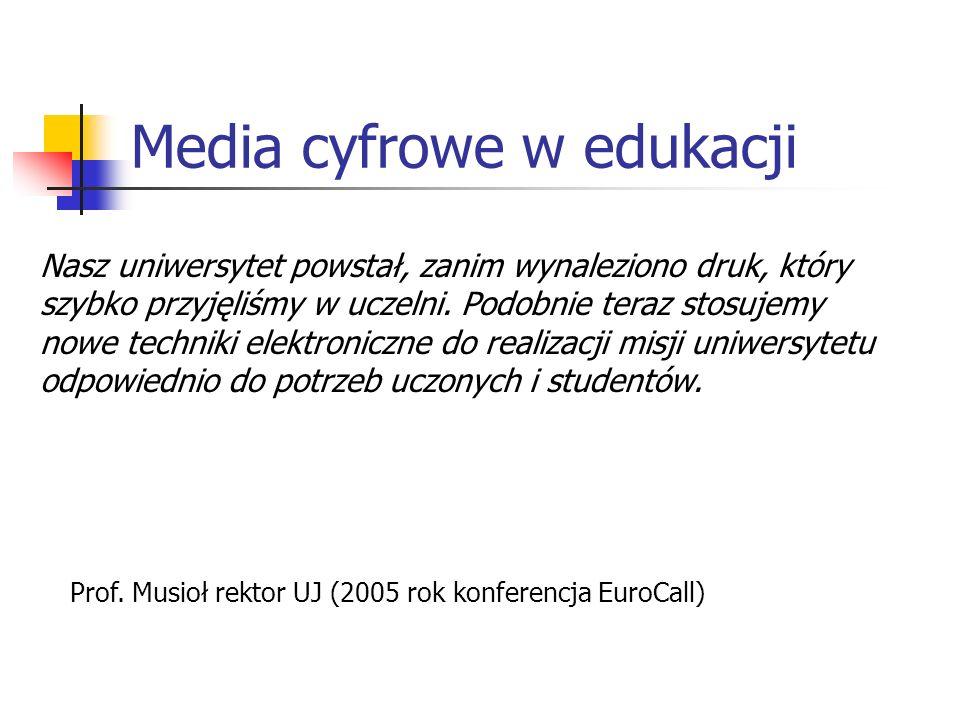 Media cyfrowe w edukacji