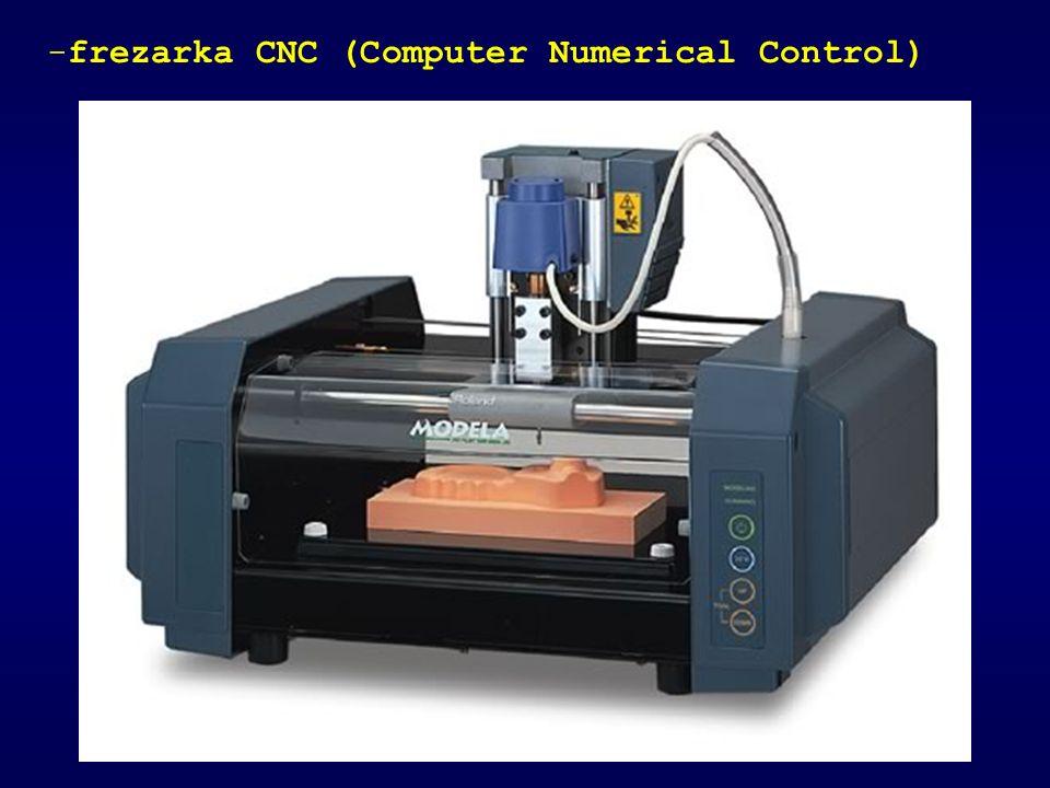 frezarka CNC (Computer Numerical Control)