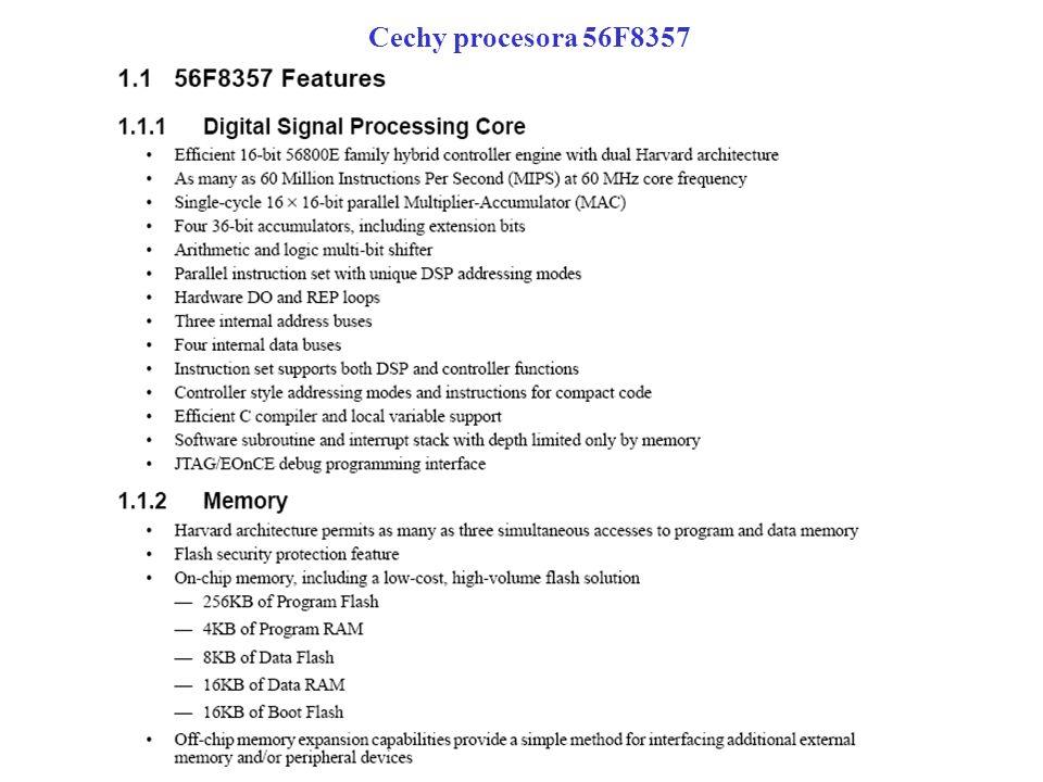 Cechy procesora 56F8357
