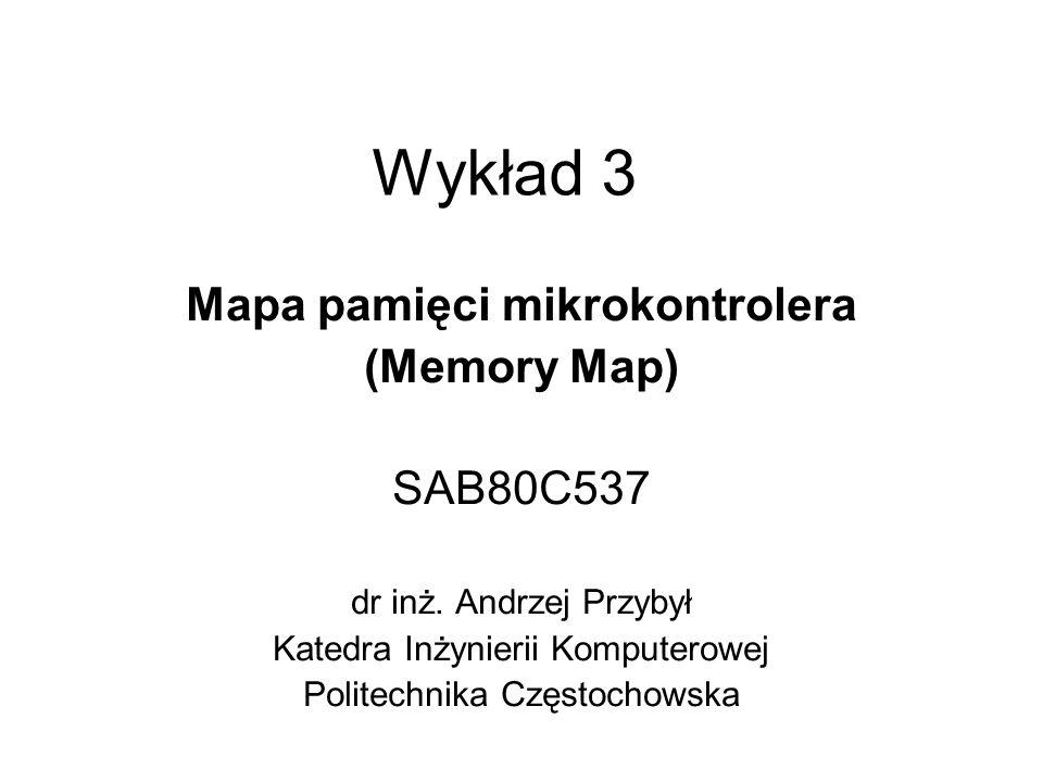 Mapa pamięci mikrokontrolera
