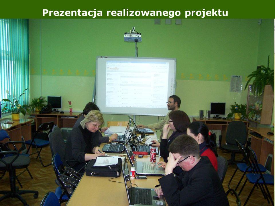 Prezentacja realizowanego projektu