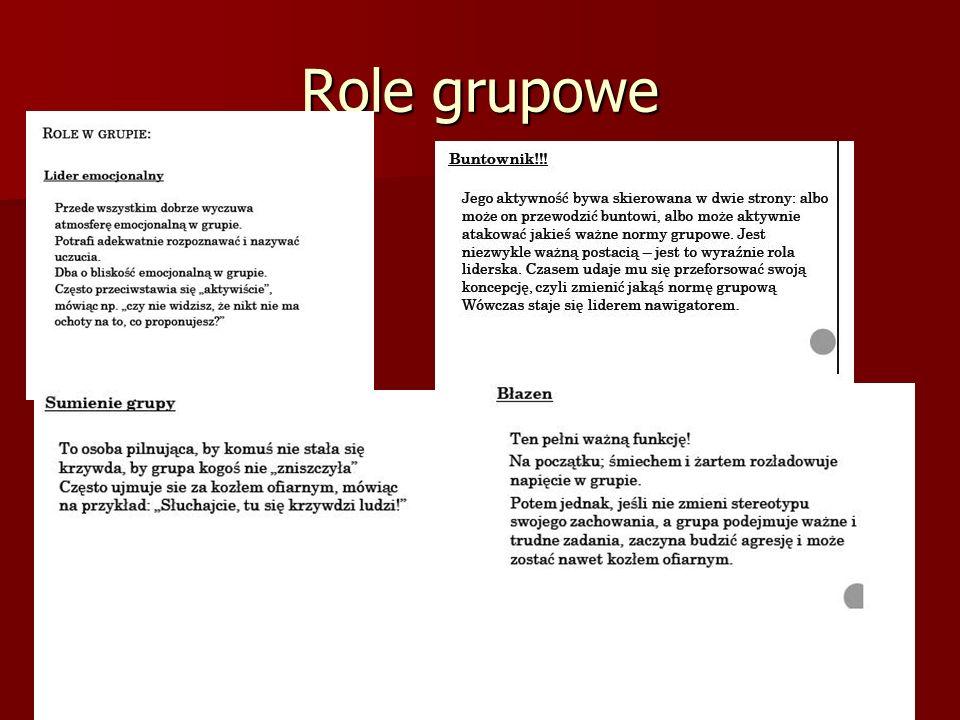 Role grupowe
