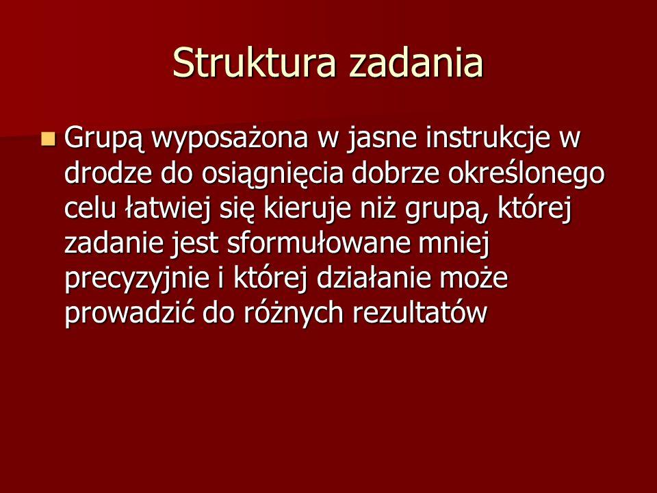 Struktura zadania