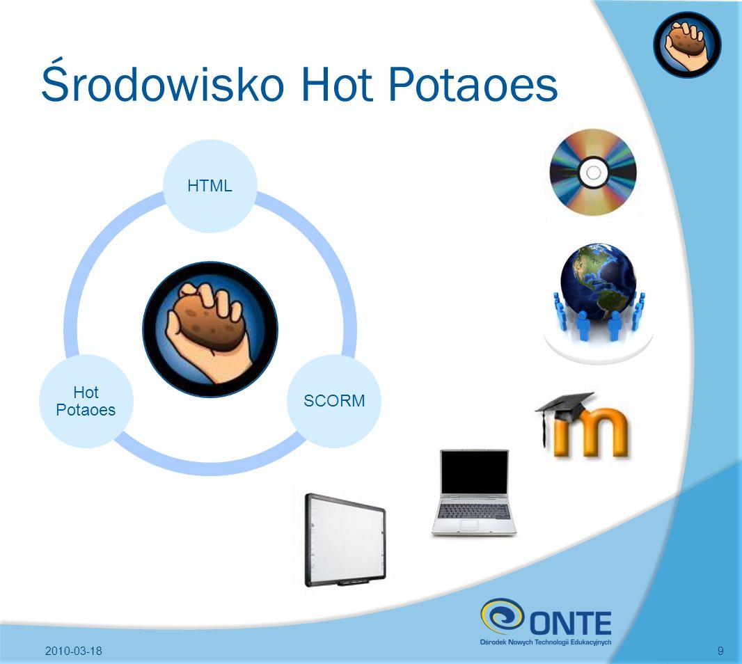 Środowisko Hot Potaoes