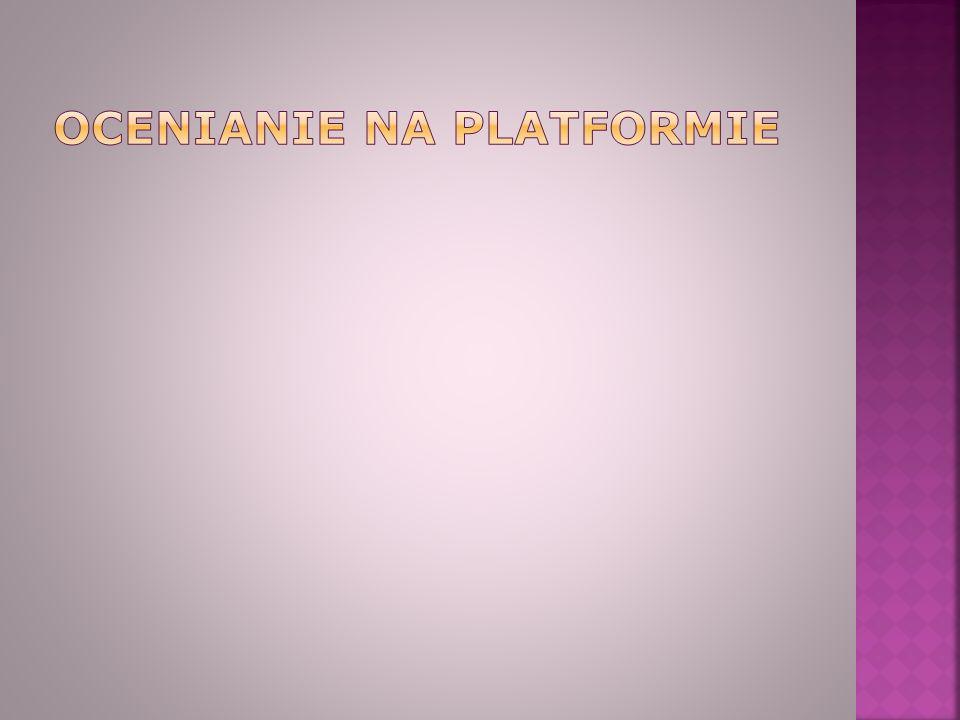 Ocenianie na platformie