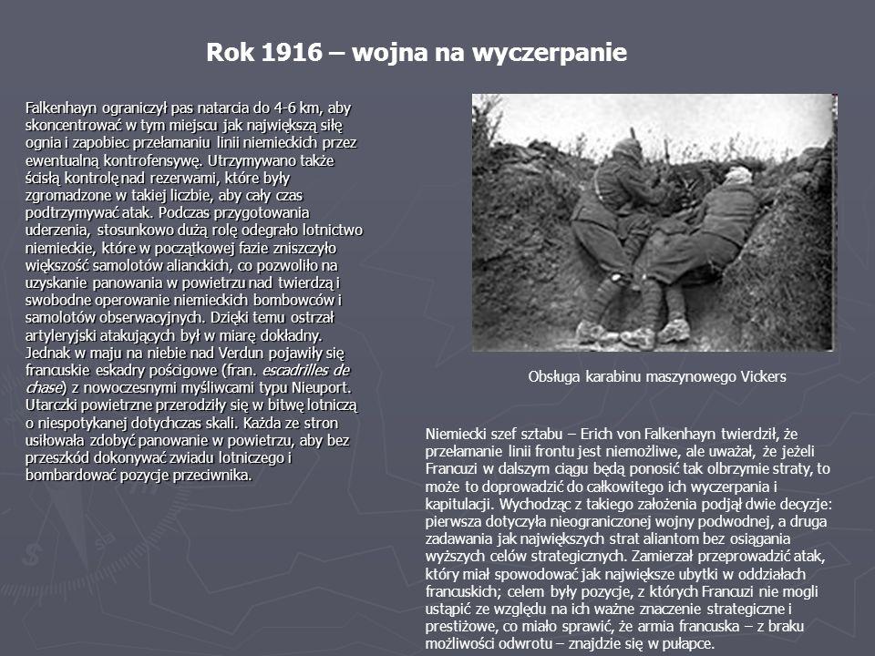 Rok 1916 – wojna na wyczerpanie