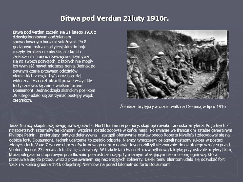 Bitwa pod Verdun 21luty 1916r.