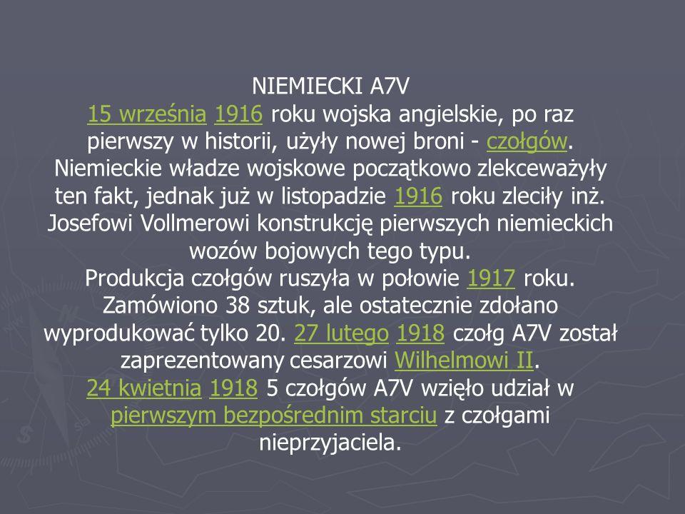 NIEMIECKI A7V