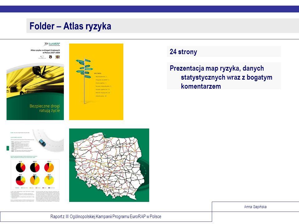 Folder – Atlas ryzyka 24 strony