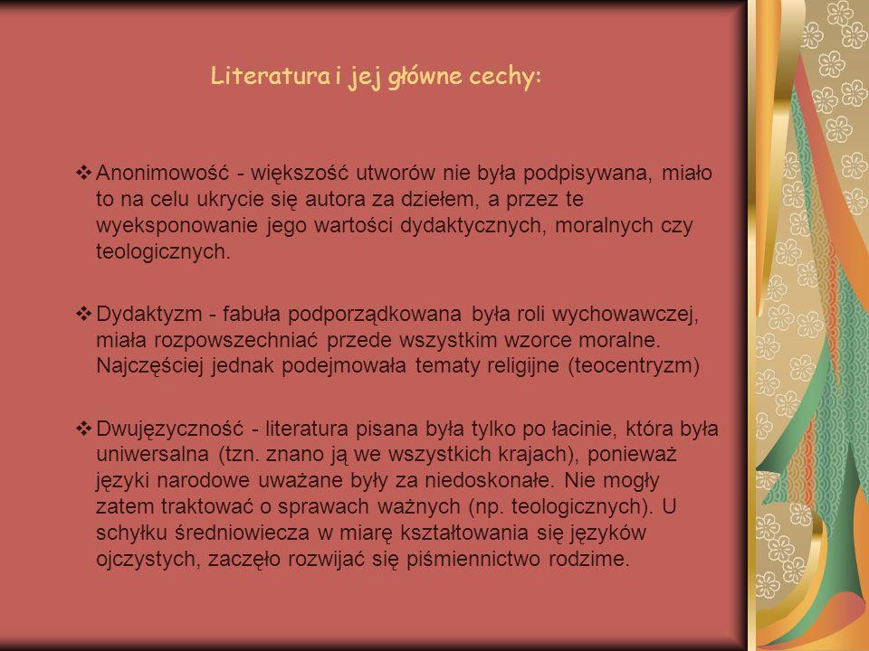 Literatura i jej główne cechy:
