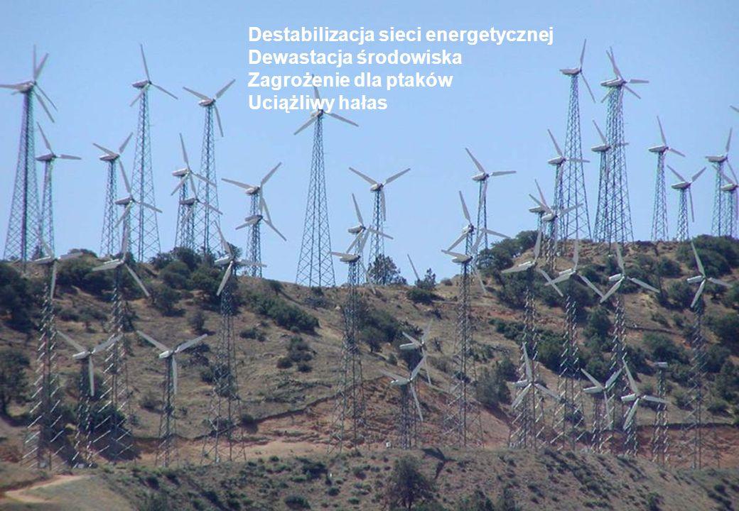 Destabilizacja sieci energetycznej