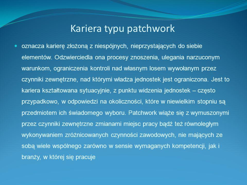 Kariera typu patchwork