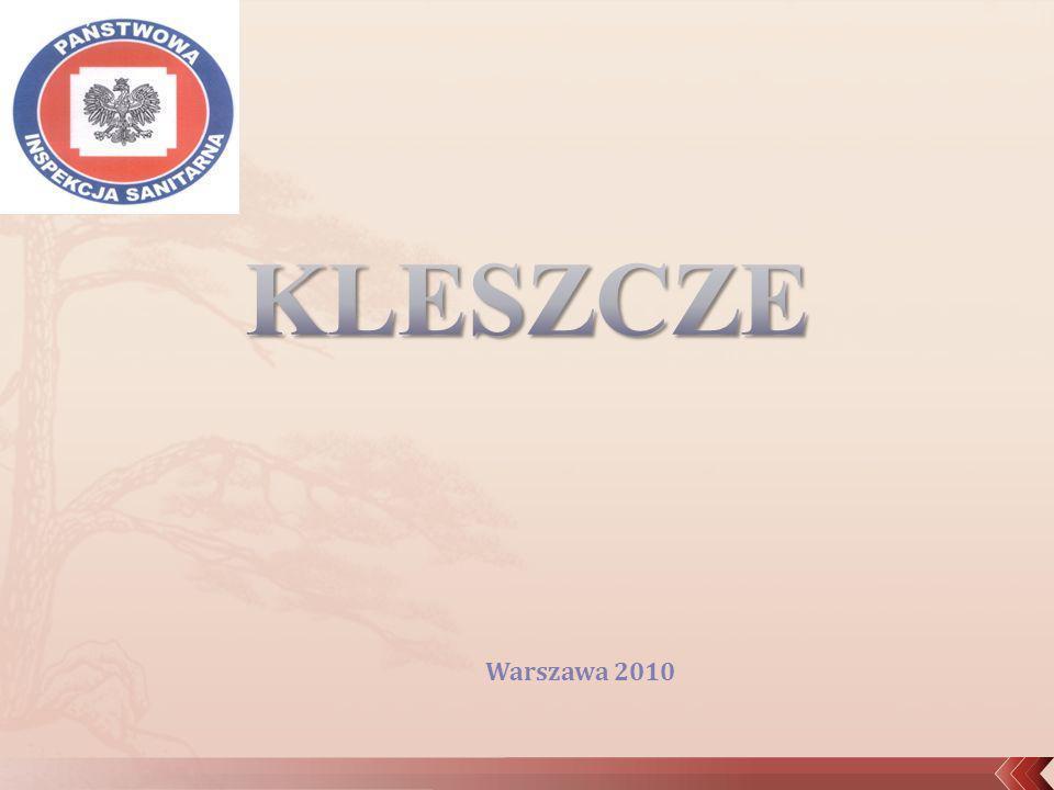 KLESZCZE Warszawa 2010