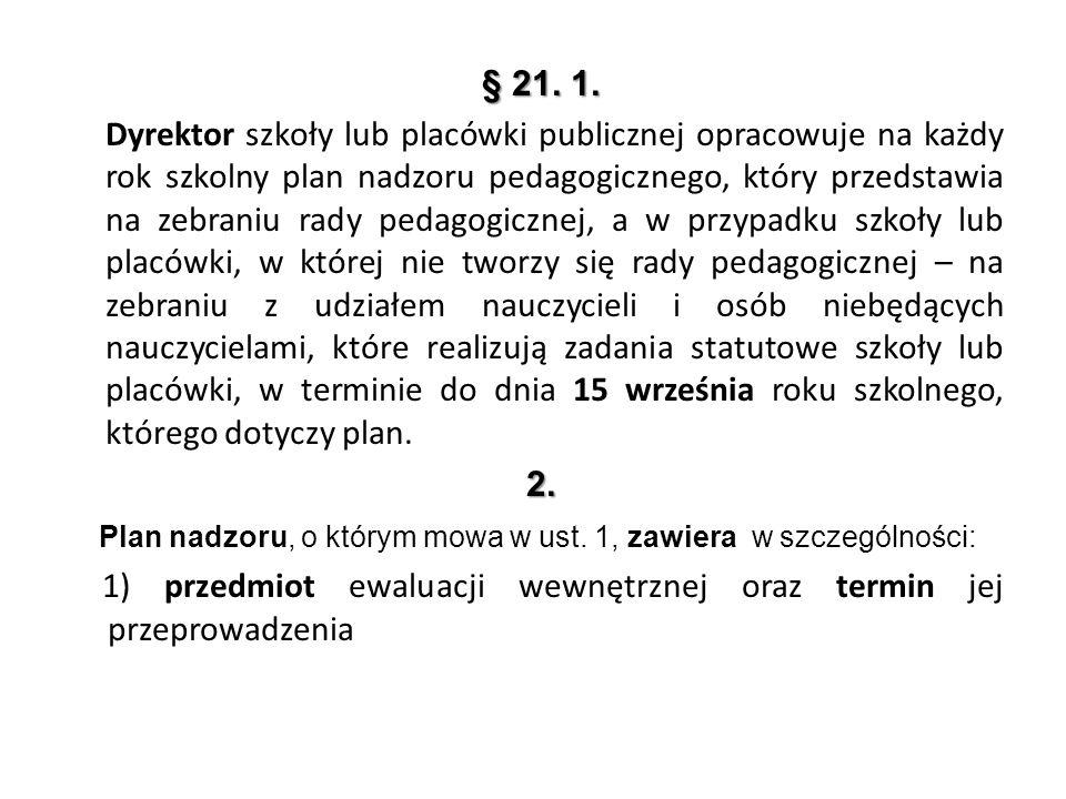 § 21. 1.