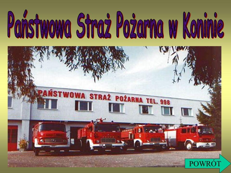 Państwowa Straż Pożarna w Koninie