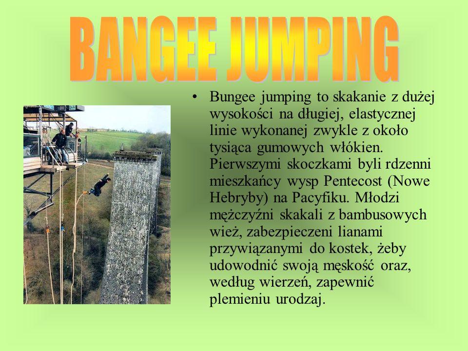 BANGEE JUMPING