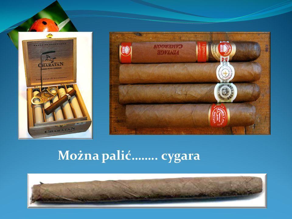 Można palić…….. cygara
