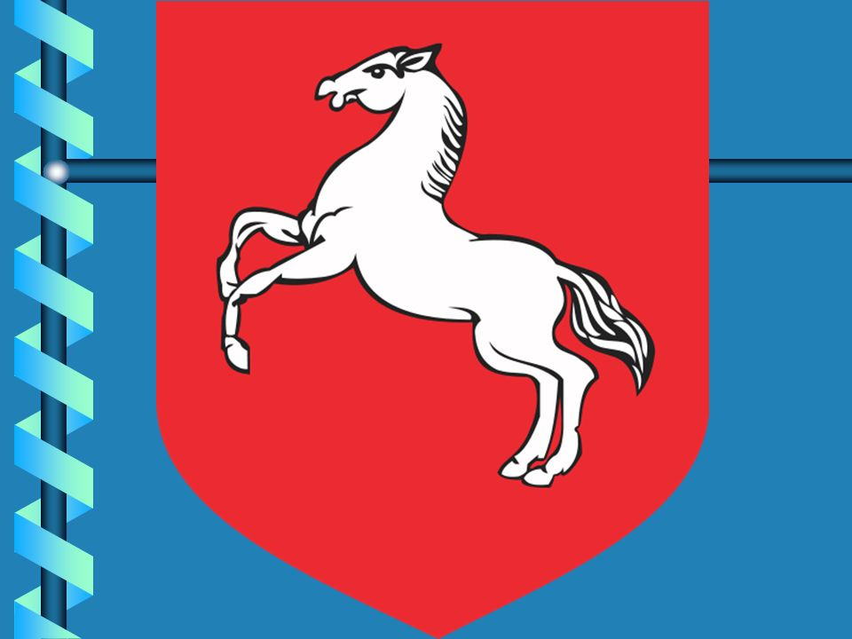Herb Konina . Herb Konina przedstawia białego konia na czerwonym tle.