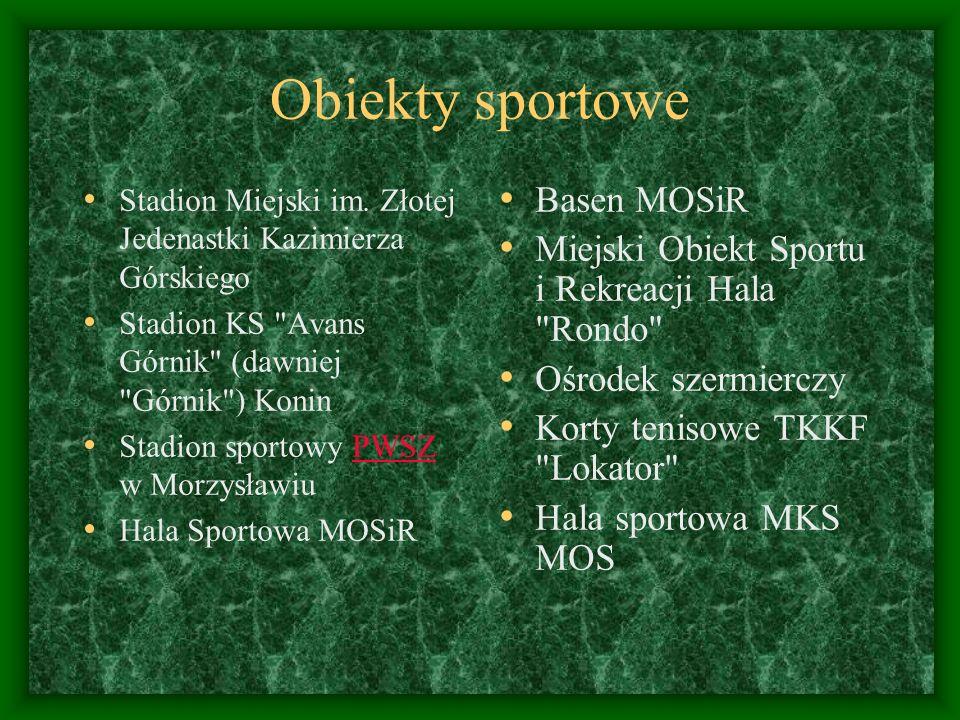 Obiekty sportowe Basen MOSiR