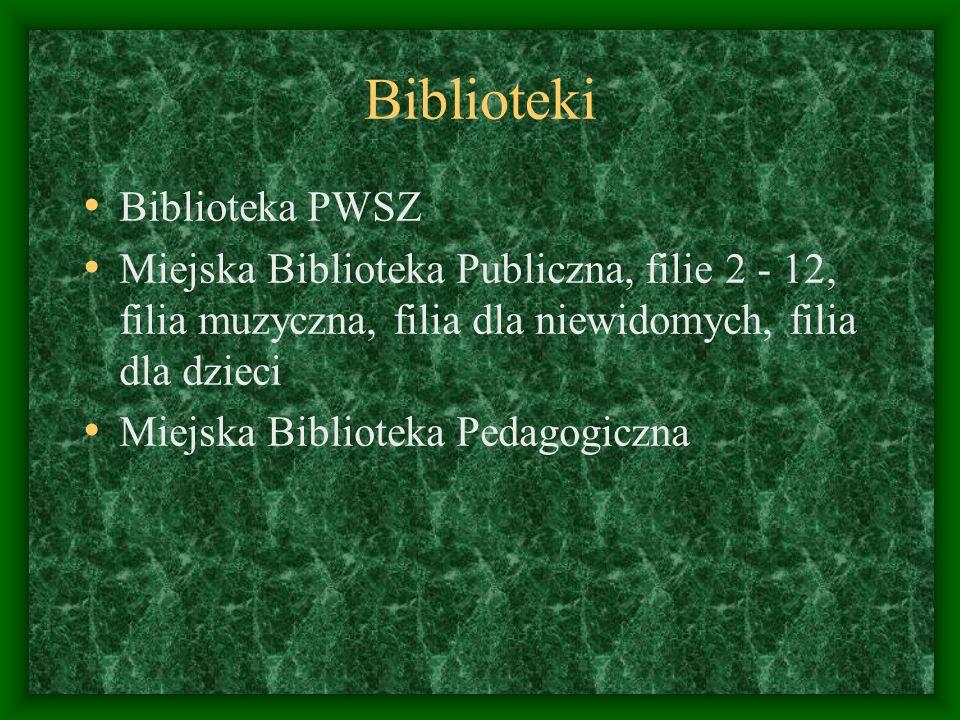 Biblioteki Biblioteka PWSZ