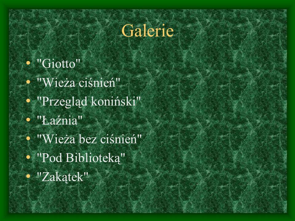 Galerie Giotto Wieża ciśnień Przegląd koniński Łaźnia