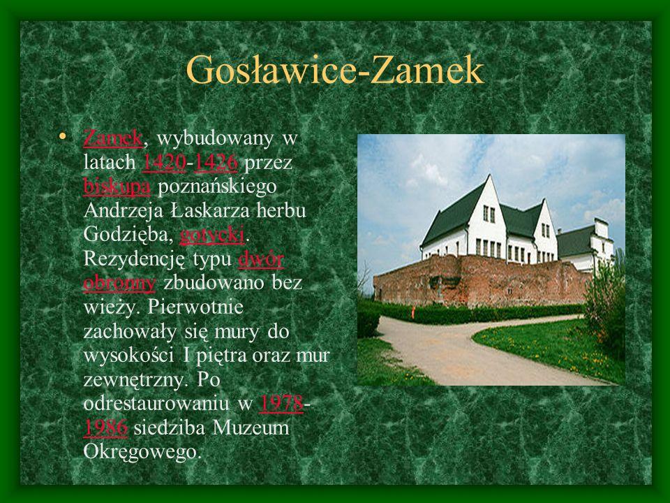Gosławice-Zamek