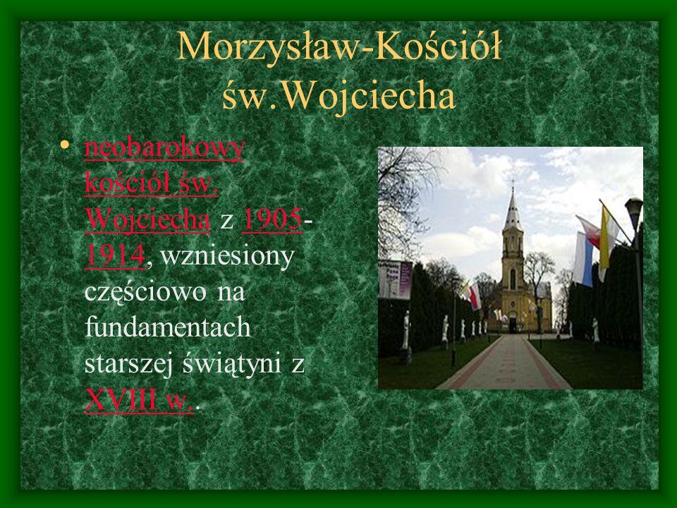 Morzysław-Kościół św.Wojciecha