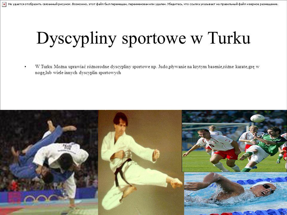 Dyscypliny sportowe w Turku