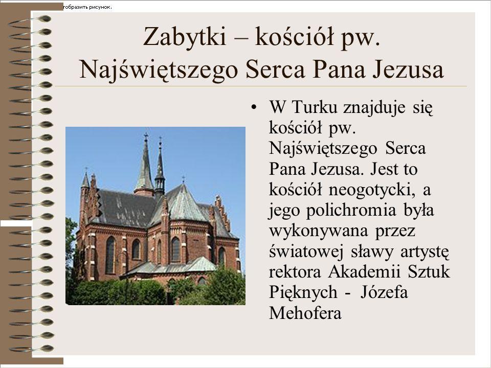 Zabytki – kościół pw. Najświętszego Serca Pana Jezusa