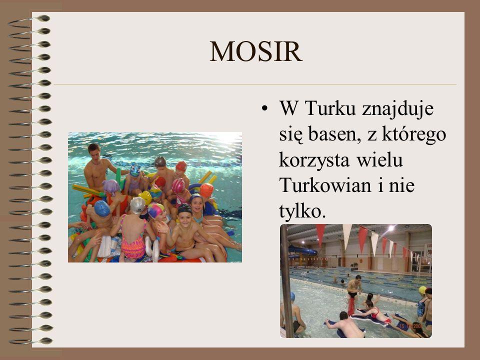 MOSIR W Turku znajduje się basen, z którego korzysta wielu Turkowian i nie tylko.