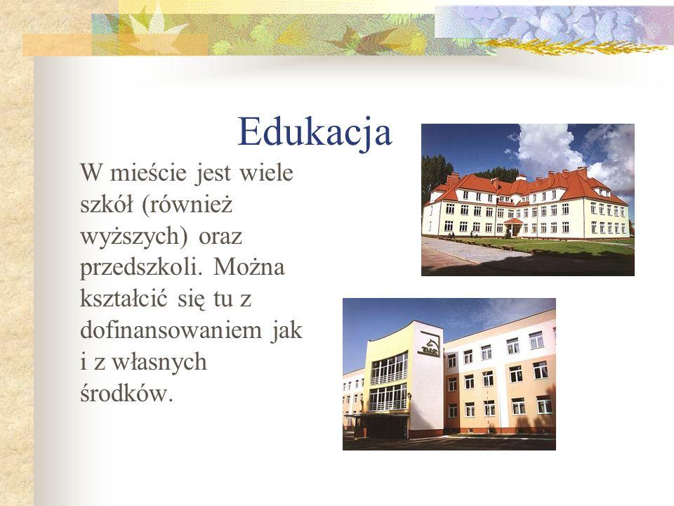 Edukacja W mieście jest wiele szkół (również wyższych) oraz przedszkoli.