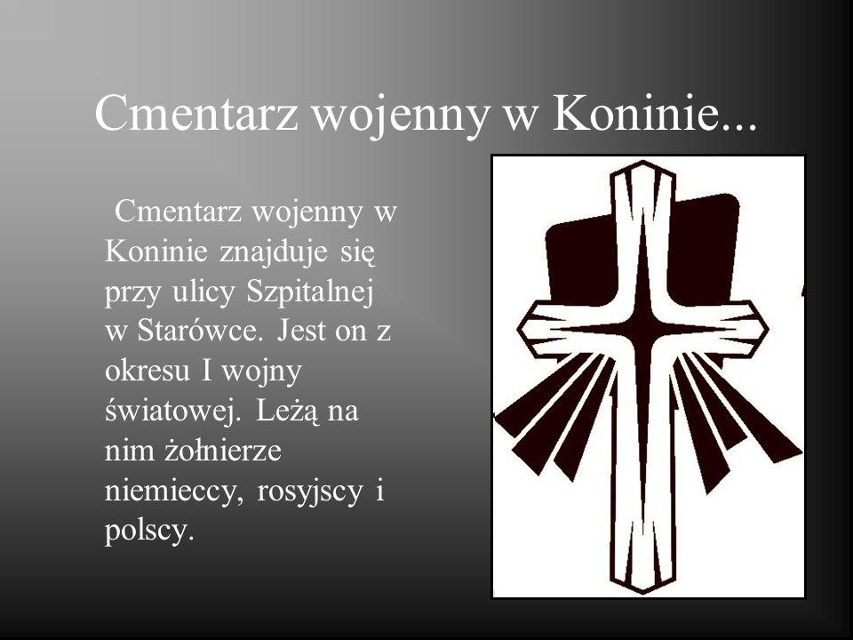 Cmentarz wojenny w Koninie...