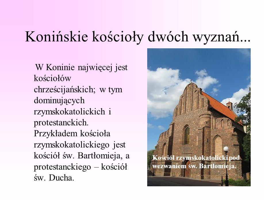 Konińskie kościoły dwóch wyznań...