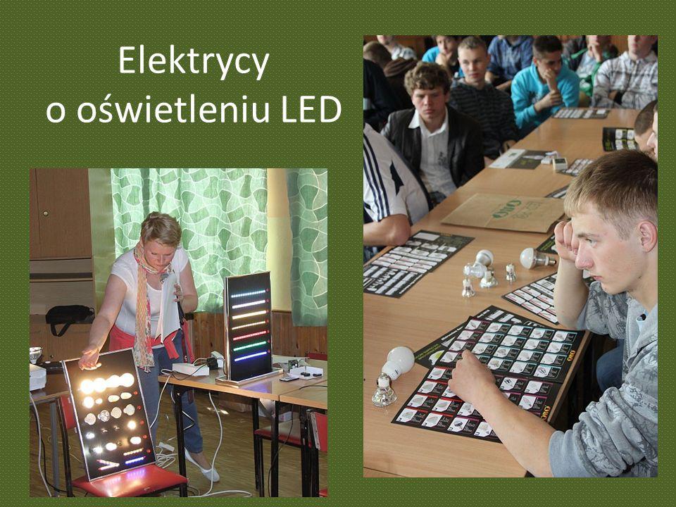 Elektrycy o oświetleniu LED