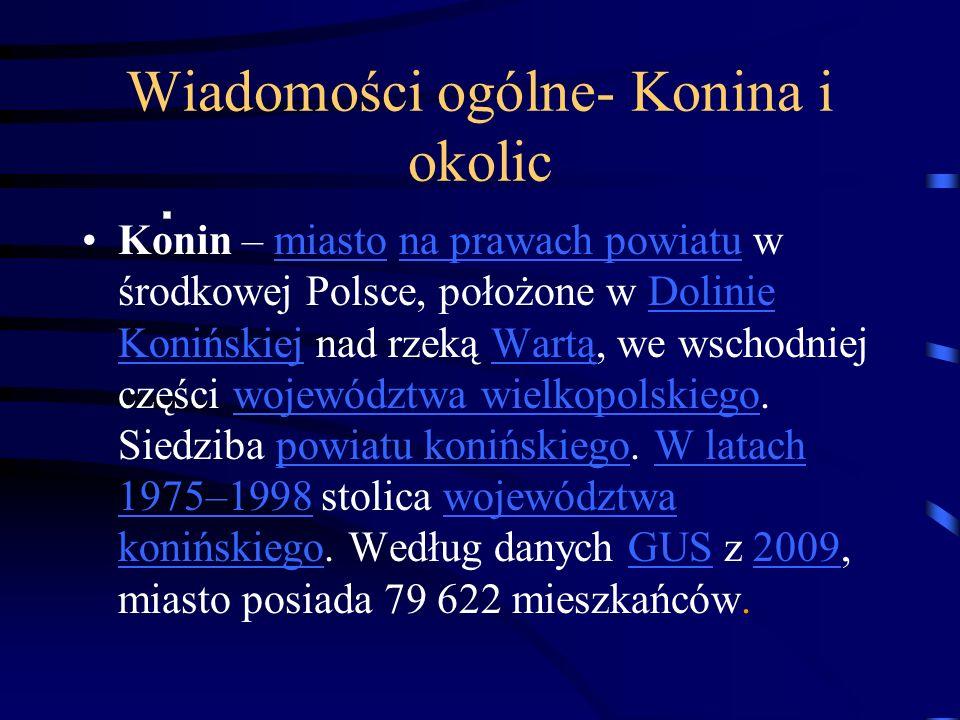 Wiadomości ogólne- Konina i okolic