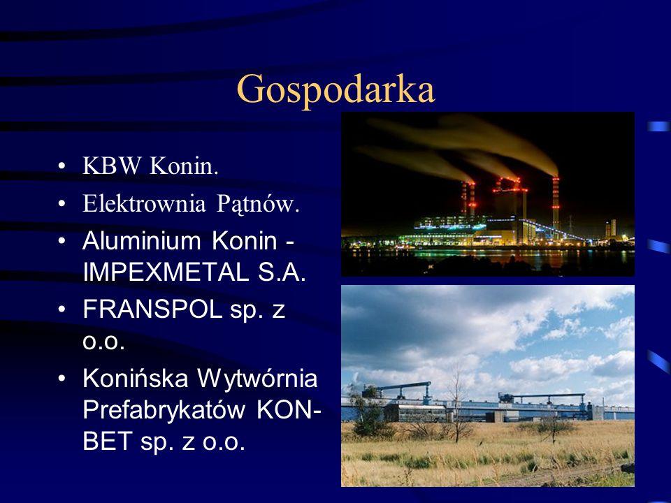 Gospodarka KBW Konin. Elektrownia Pątnów.