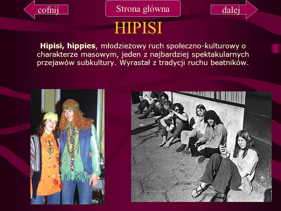 HIPISI cofnij Strona główna dalej