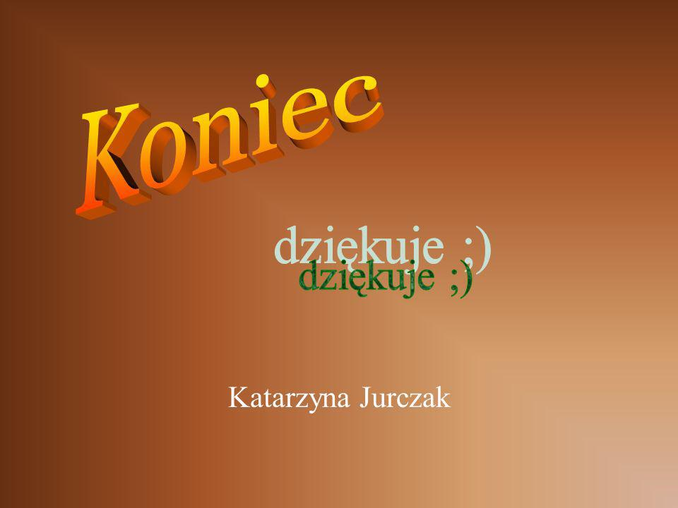 Koniec dziękuje ;) Katarzyna Jurczak
