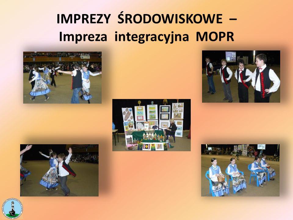 IMPREZY ŚRODOWISKOWE – Impreza integracyjna MOPR
