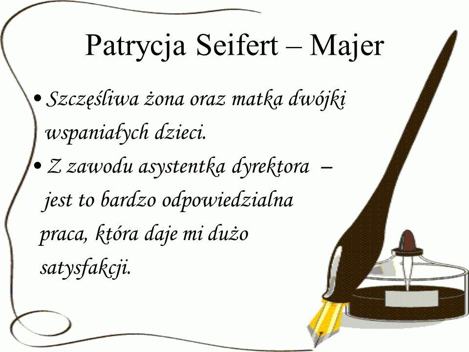 Patrycja Seifert – Majer