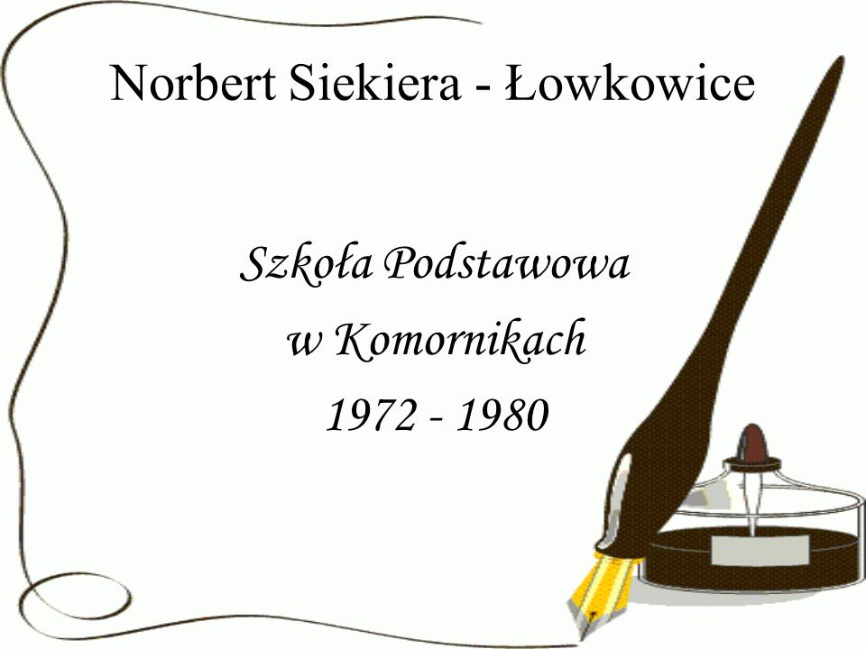 Norbert Siekiera - Łowkowice